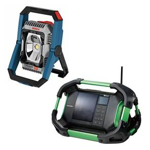 view Cordless Lighting, Radios, Speakers products
