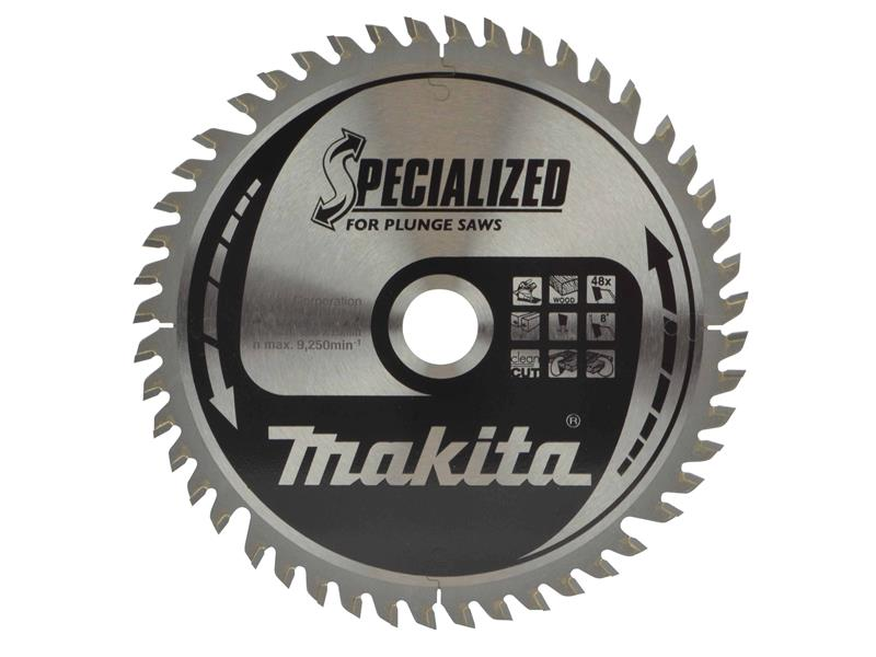 Makita B-09298 Specialized Plunge Saw Blade 165 x 20mm x 48T
